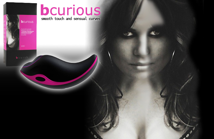 De B-Curious Massager staat
