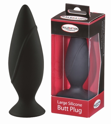 Silicone Buttplug, 4 cm by Malesation