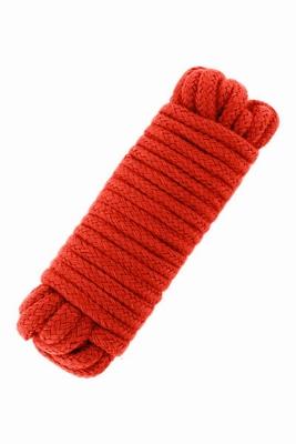 Bondagetouw 5 meter - extra dun, rood