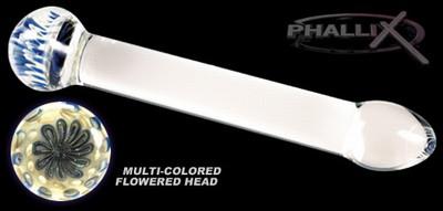 Phallix Flower Head G-Spot Curved Wand Dildo