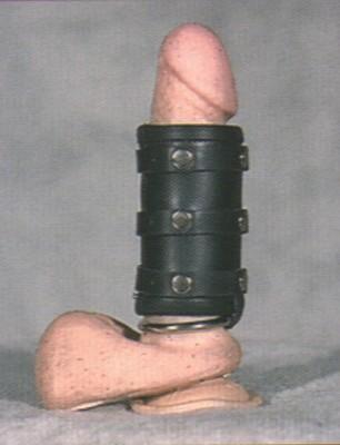 Peniskoker met ring - luxe. Ringmaat 45 mm