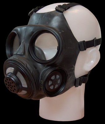 Deens gasmasker zonder filter