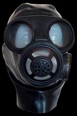 Deens gasmasker met complete Hood