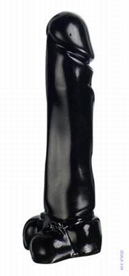 Jumbo Jack Man-O-War Black Dildo 24 cm