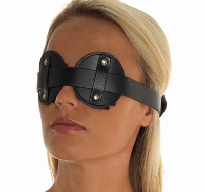 Oogmasker / Blinddoek met kunstbond