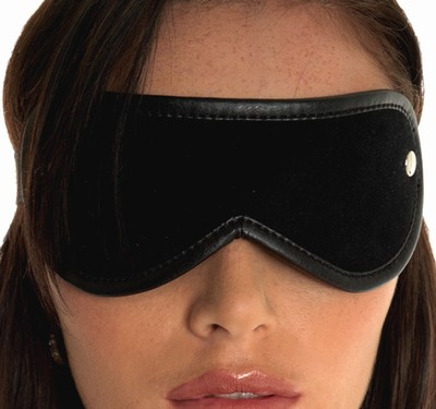 Blinddoek, zwart