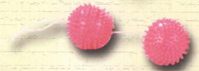 Zachte roze duo ballen