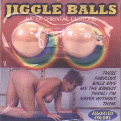 Latex Jiggle ballen, vleeskleur