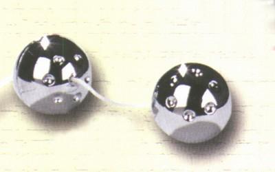 Metalen ballen, zilverkleur
