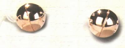 Metalen ballen, goudkleur