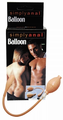 Opblaasbare Buttplug by Simply Anal