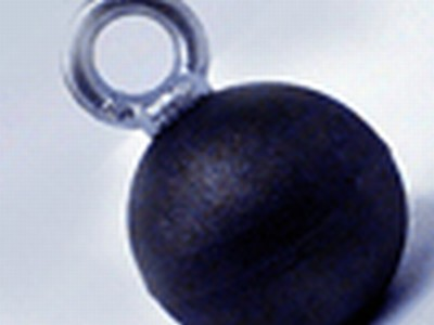 Kogelgewicht smeedijzer, 500 gram