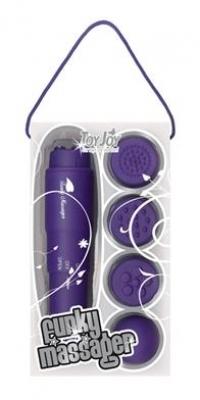 Pocket Rocket - Toy Joy Funky Massager, violet
