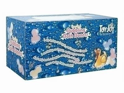 Bubbling Bath Boners.Leuke doos gekleurde penisjes voor bad