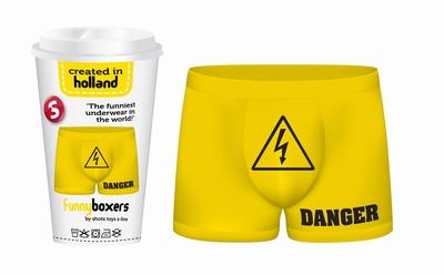 Funny Boxers Danger (heren boxershort)
