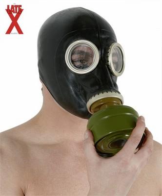 Latex Gas Masker