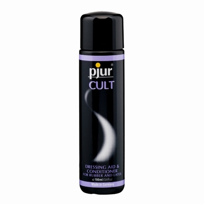 Pjur Cult latex, rubber dressing aid and conditioner,100 ml.