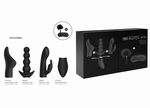 SWITCH Pleasure Kit #6, topkwaliteit vibrator kit, zwart
