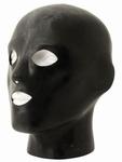 Anatomische dikke rubberen hood met neus, oog en mond gaten
