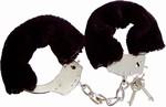 Fluffy Bont Handboeien Zwart