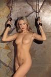 Arm-ophang boeien, gevoerd met spaltsuede, zonder ketting