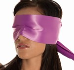 Blinddoek van 100% Polyester, paars
