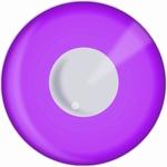 Funlenzen, DemonEyes contactlenzen, Purple