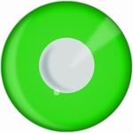 Funlenzen, DemonEyes contactlenzen, Green