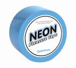 Neon Bondagetape, blauw